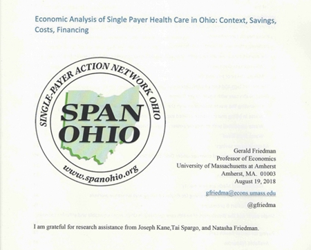 Economic Impact Study re: Single-Payer Health Care in Ohio is NOW ONLINE